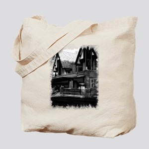 Old Haunted House Tote Bag