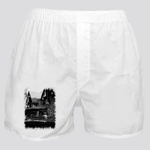Old Haunted House Boxer Shorts