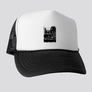 Old Haunted House Trucker Hat