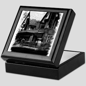Old Haunted House Keepsake Box