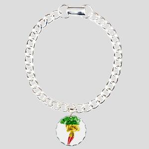 Smoke Pillar of Reggae Charm Bracelet, One Charm