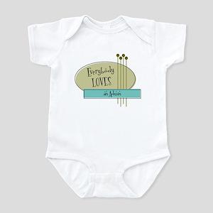 Everybody Loves an Admin Infant Bodysuit
