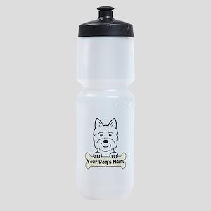 Personalized Westie Sports Bottle