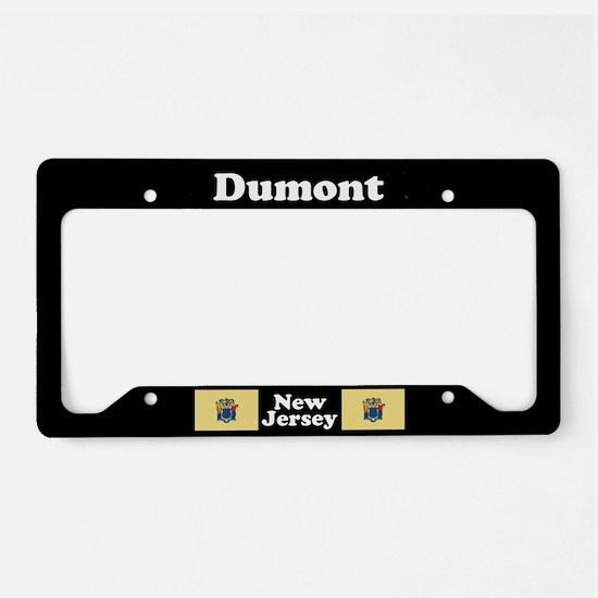 Dumont NJ - LPF License Plate Holder