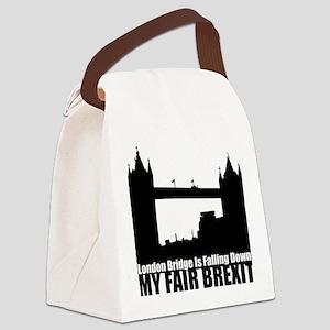 My Fair Brexit Canvas Lunch Bag
