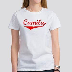 Camila Vintage (Red) Women's T-Shirt