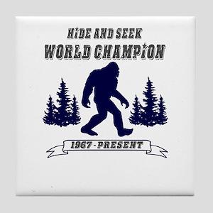 Hide and Seek World Champion Tile Coaster