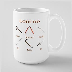 Kobudo Weapons Large Mug