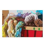 Art Yarn 2 Postcards (Package of 8)