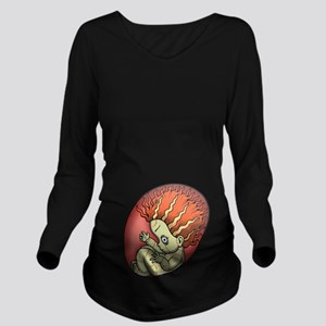 Ginger Zombie Long Sleeve Maternity T-Shirt