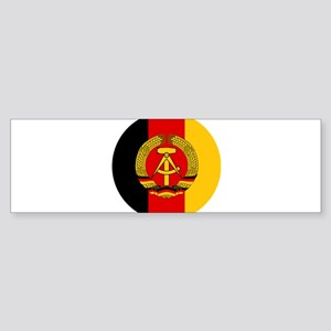German Democratic Republic (DDR / G Bumper Sticker