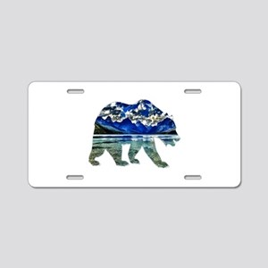 BEAR Aluminum License Plate
