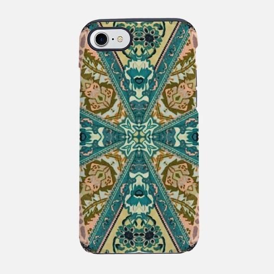 bohemian mandala tribal patt iPhone 8/7 Tough Case