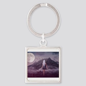 Woman in the Twlight Keychains