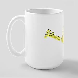 Yellowman Large Mug