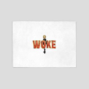Woke 5'x7'Area Rug