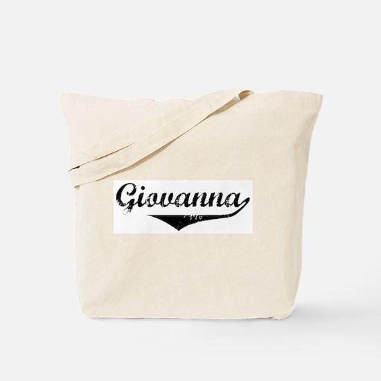 Giovanna Vintage (Black) Tote Bag