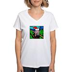 Christmas Stress Women's V-Neck T-Shirt