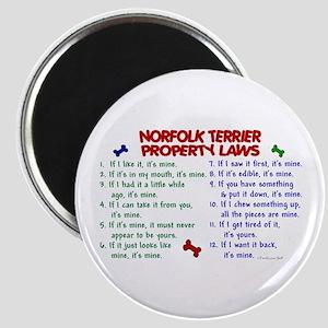 Norfolk Terrier Property Laws 2 Magnet