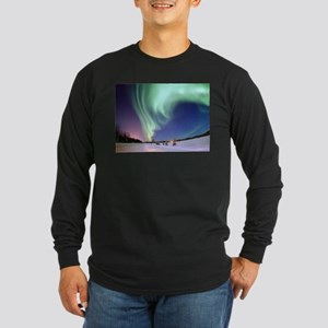 Northern Lights of Alaska Phot Long Sleeve T-Shirt