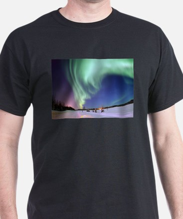 Northern Lights of Alaska Photograph T-Shirt