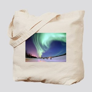 Northern Lights of Alaska Photograph Tote Bag