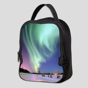 Northern Lights of Alaska Photo Neoprene Lunch Bag