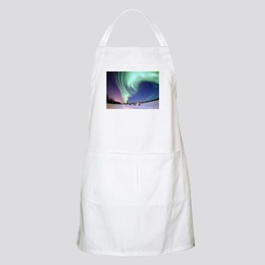Northern Lights of Alaska Photograph Apron