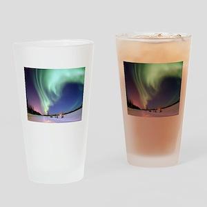 Northern Lights of Alaska Photograp Drinking Glass