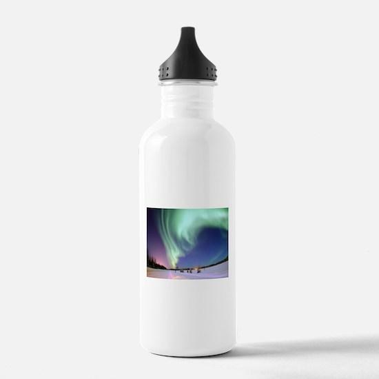 Northern Lights of Ala Water Bottle