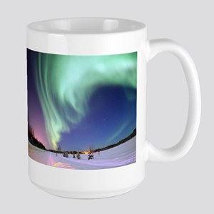 Northern Lights of Alaska Photograph Mugs