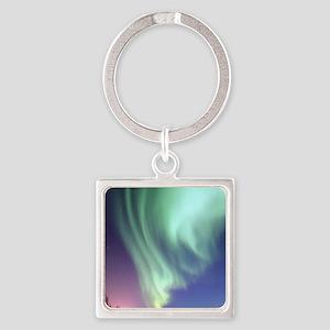Northern Lights of Alaska Photograph Keychains