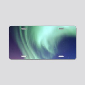 Northern Lights of Alaska P Aluminum License Plate
