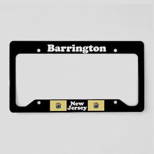 Barrington NJ - LPF License Plate Holder