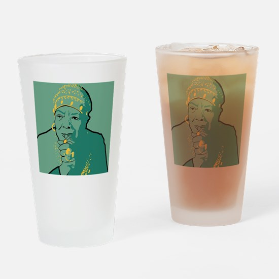 Cute Reading books Drinking Glass