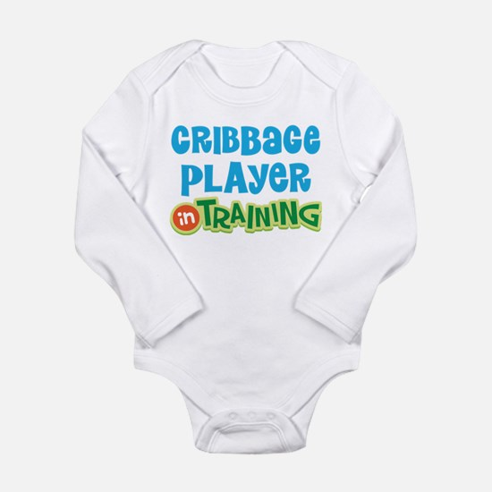 Cribbage player in training Infant Bodysuit Body S