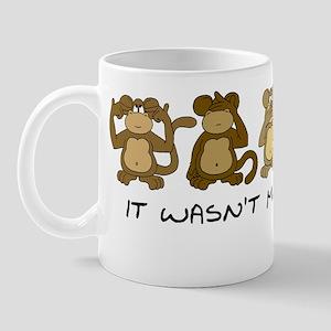 3 MONKEYS Mug