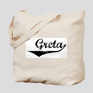 Greta Vintage (Black) Tote Bag