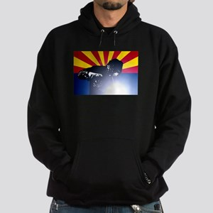 Welding: Arizona State Flag & Welder Hoodie (dark)