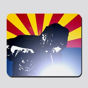 Welding: Arizona State Flag & Welder Mousepad