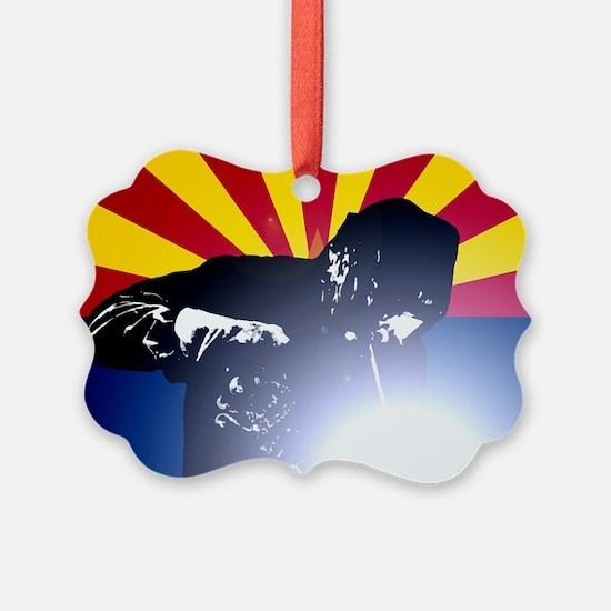 Welding: Arizona State Flag & Wel Ornament