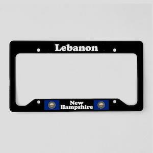Lebanon NH License Plate Holder