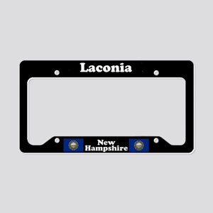 Laconia NH License Plate Holder