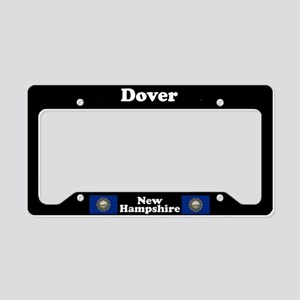 Dover NH License Plate Holder