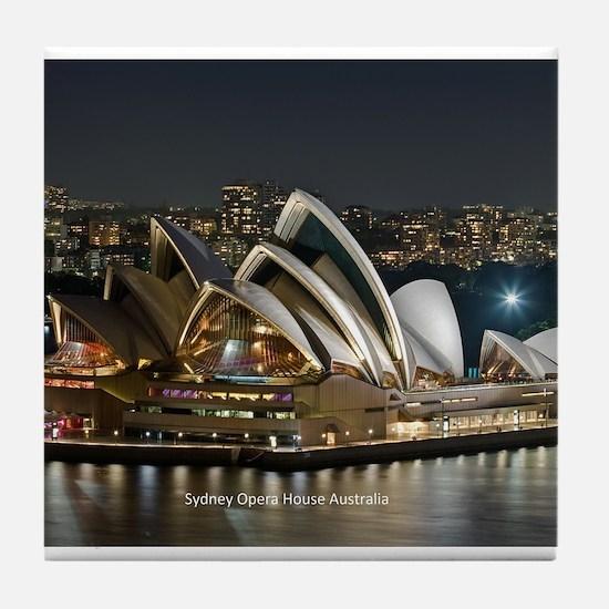 Sidney Opera House Tile Coaster