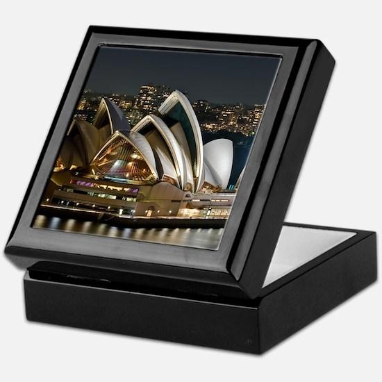 Sidney Opera House Keepsake Box