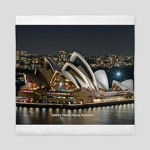 Sidney Opera House Queen Duvet