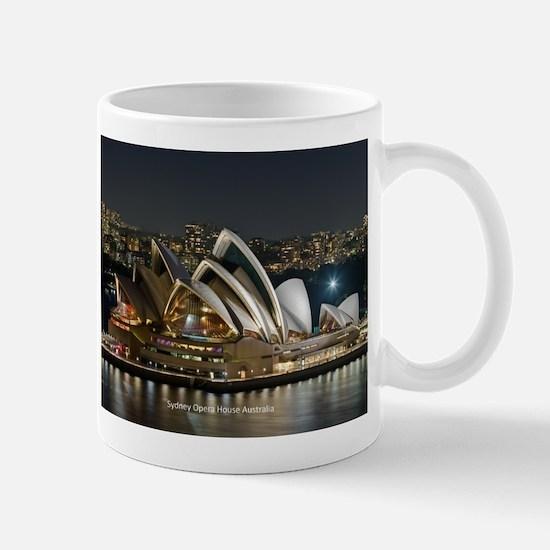 Sidney Opera House Mugs