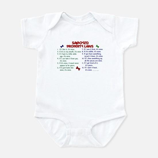 Samoyed Property Laws 2 Infant Bodysuit