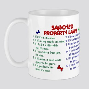 Samoyed Property Laws 2 Mug